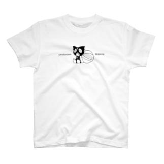 ゆわふわれぶにゃんTシャツ T-shirts