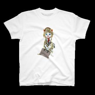 Rock catのCAT GIRL 通勤 T-shirts