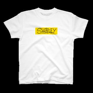 smiley__fashionのSmILEY BOXロゴ T-shirts