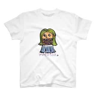 アマビエちゃんマスク T-shirts