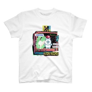 猫とロックンロール02 T-shirts