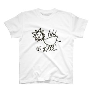 長男の絵 ライオン T-shirts
