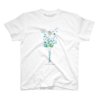 雪の精❄️ ロゴ付 T-shirts