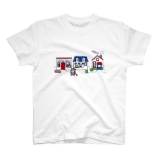 旅するゆめねこ T-shirts