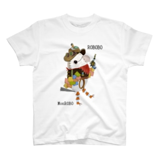 ROBOBO モンロボ T-shirts