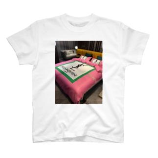 ふとんカバーセット 4点 イブサンローラン YSL寝具 T-shirts