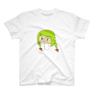 よしたしよ@もう駄目だのきりんちゃん T-shirts