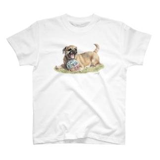 ボーダーテリア1 T-shirts