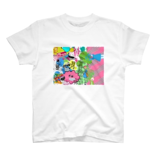 東京モラルハザードのテーマ T-shirts