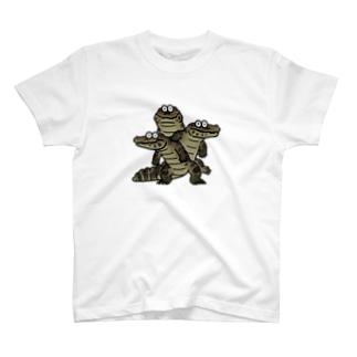 立ちゆるワニ T-shirts