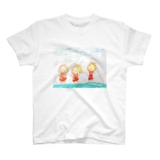 ひまわり軍団 T-shirts