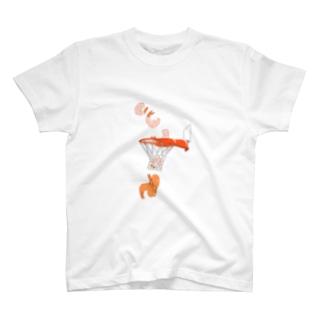 エビフライ バスケ T-shirts