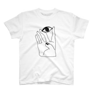 見つめる T-shirts