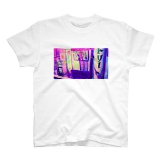 レトロpink T-shirts