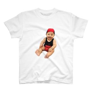 むんぎりレディバグちゃん T-shirts