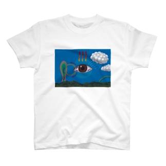 涙の分泌 T-shirts