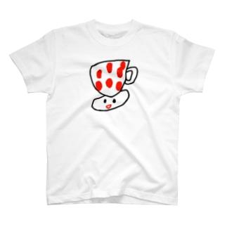 カップハットソーサーくん T-shirts