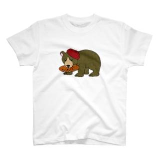 木彫りのくまさん T-shirts