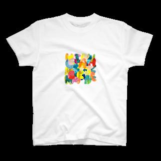 shirokumasaanのabc... T-shirts