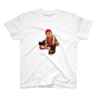 赤ハゲスニーカーズ T-shirts