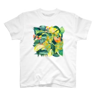原っぱ T-shirts