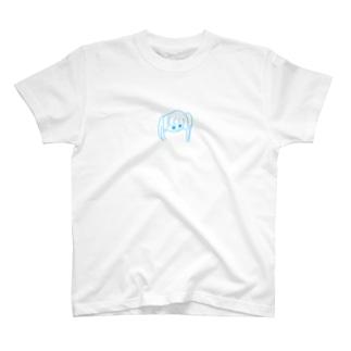 前頭骨損傷してないみよしちゃん!あお! T-shirts