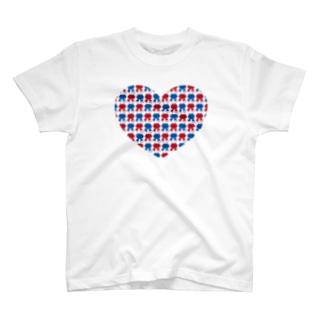 りそやしょうのFlower park ♡ tee T-shirts