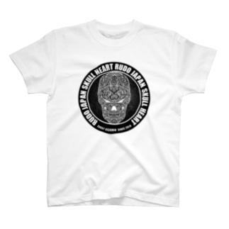 RUDO JAPAN SKULL HEART T-shirts