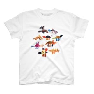 hjm-dino シリーズ T-shirts