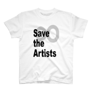 Save the Artists 02 T-shirts