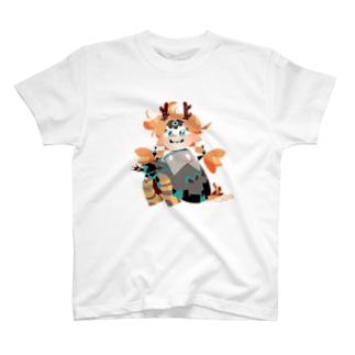 ドラゴンのコドモ T-shirts
