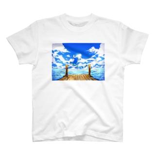 恋するシロクマ公式のTシャツ(ダイブ) T-shirts