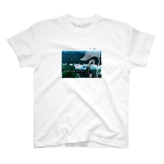 どなる、でんわ、どしゃぶり T-shirts