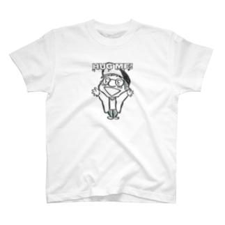 野村タダフミ (ストリーキング計画)のHUG MEはぐみー! T-shirts
