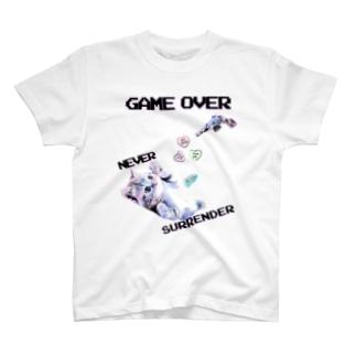 「NEVER SURRENDER」 T-shirts