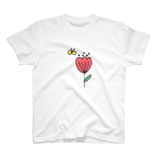 北欧POP tulip🌷 T-shirts