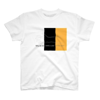 Why do we mind a color of the skin? T-shirts