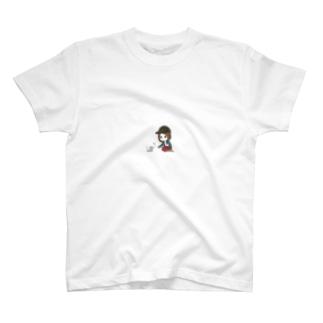 子猫と猫じゃらし T-shirts