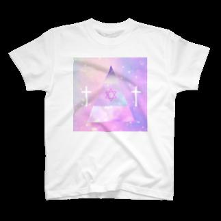 † MANAPI †のきゅらいあんぐる T-shirts
