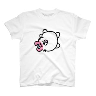 福留茜の笑顔で性癖を語るハムスター(ズコーッver.) T-shirts