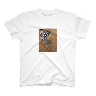 飼い犬の絵 T-shirts