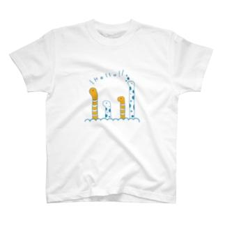 ちんあなごさん T-shirts