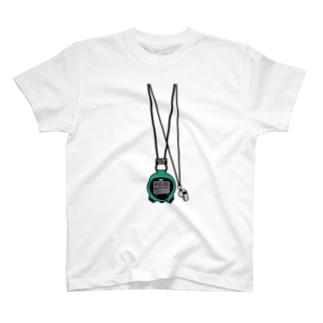 ストップウォッチ&ホイッスル T-shirts