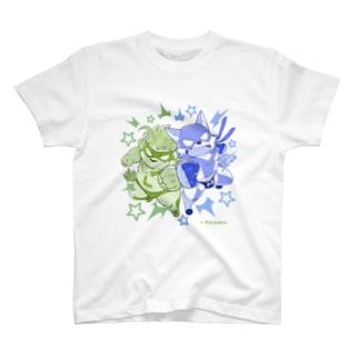 マイティリバティbyJiro T-shirts