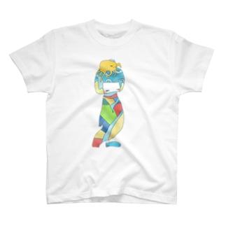 ねこけとり T-Shirt