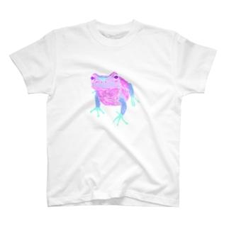 ゆめかわいいカエル T-shirts