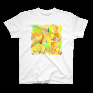 shirokumasaanの春の木漏れ日 T-shirts