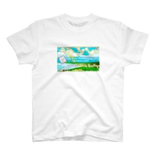 ダイヤモンドヘッドビュー T-shirts