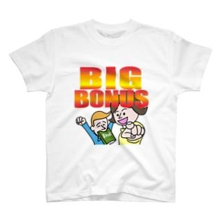 ビッグボーナス T-shirts