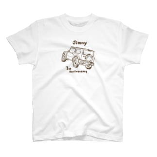 ジムニー1st anniversary T-shirts
